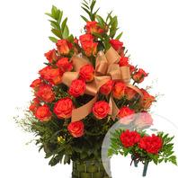 꽃바구니 (꽃행복336호)